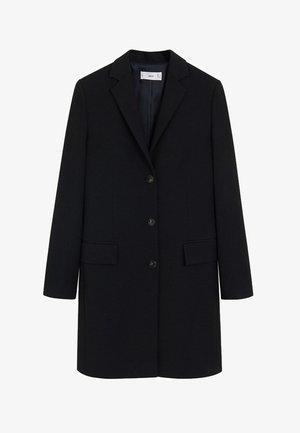 GUMMY - Short coat - schwarz