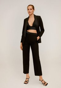 Mango - SMOKING - Blazer - black - 1