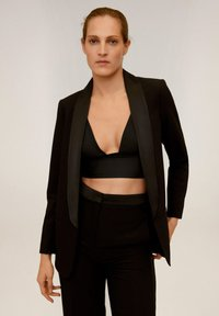 Mango - SMOKING - Blazer - black - 0