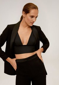 Mango - SMOKING - Blazer - black - 3