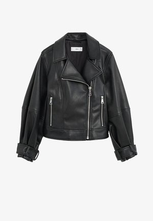 MATI - Faux leather jacket - schwarz