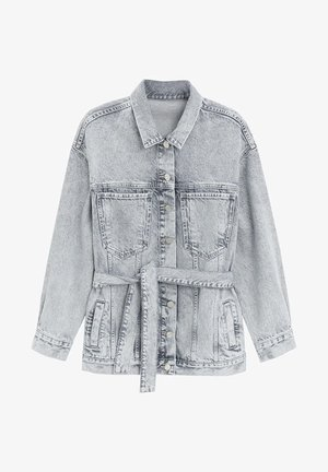 ACID - Veste en jean - denim grau
