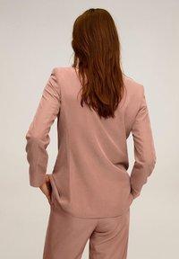 Mango - TEMPO - Veste de costume - rosa - 2