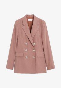 Mango - TEMPO - Veste de costume - rosa - 3