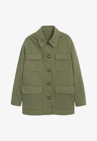 Mango - MARGOT - Summer jacket - khaki - 3