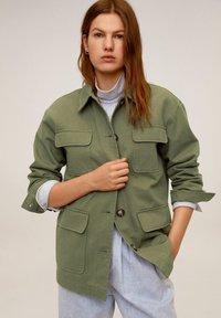 Mango - MARGOT - Summer jacket - khaki - 0