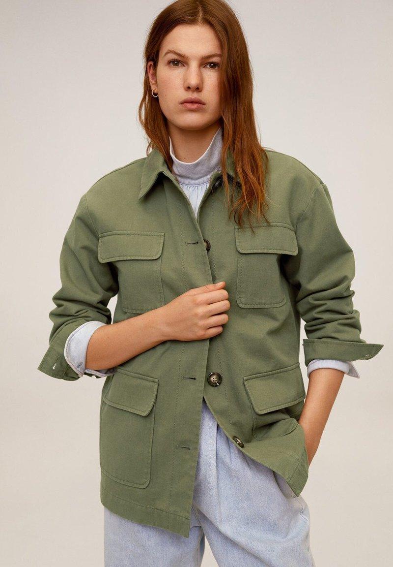 Mango - MARGOT - Summer jacket - khaki