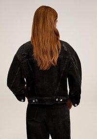 Mango - FIONA - Veste en jean - black denim - 2
