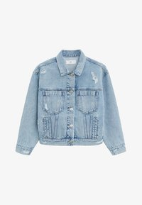 Mango - FIONA - Denim jacket - blu medio - 4