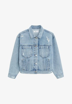 FIONA - Denim jacket - blu medio
