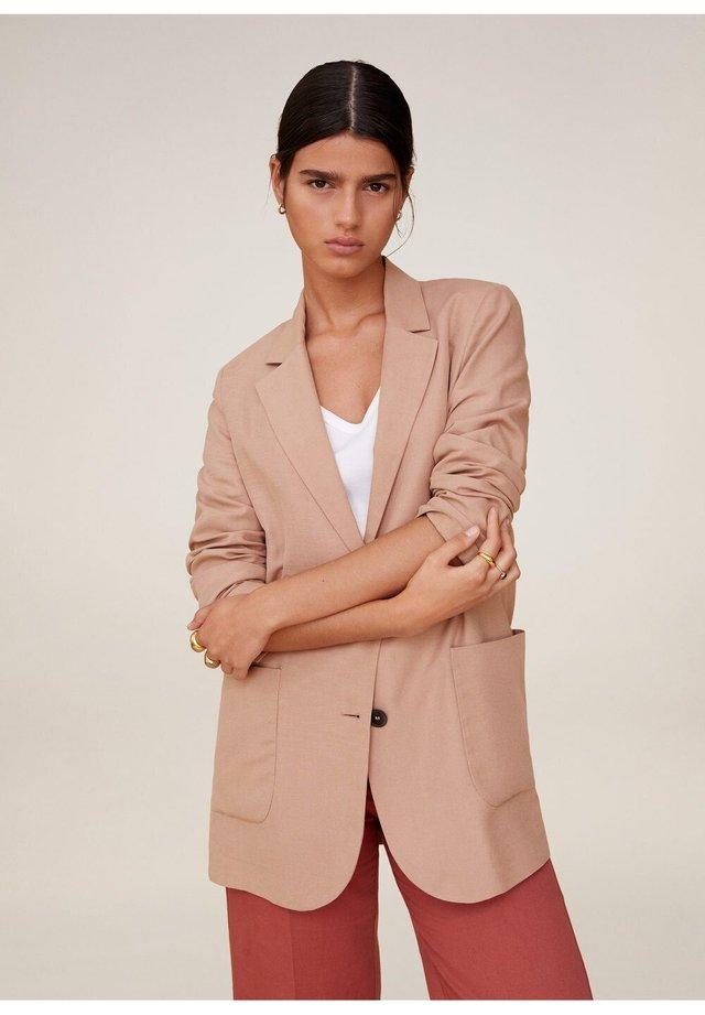 BOMBAY - Krótki płaszcz - pastellrosa