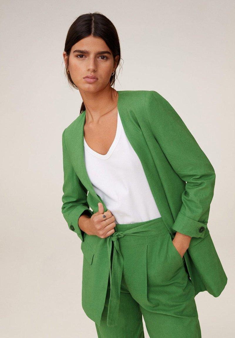 Mango - EMMA - Blazer - grün