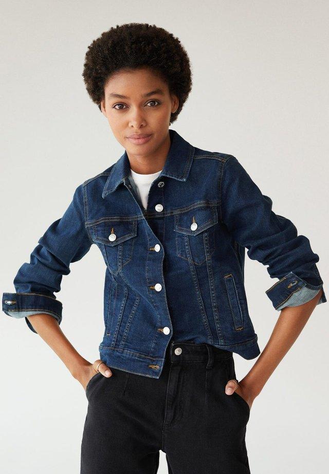 VICKY - Kurtka jeansowa - bleu foncé