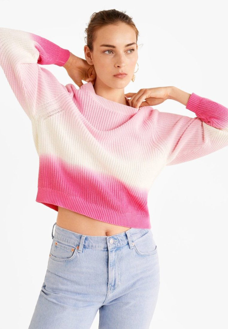 Mango - DEGRADE - Strickpullover - pink
