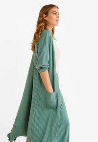 Mango - AZALEE - Cardigan - turquoise - 2