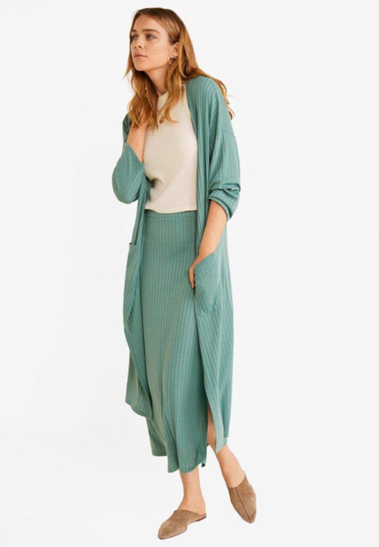 Mango - AZALEE - Cardigan - turquoise