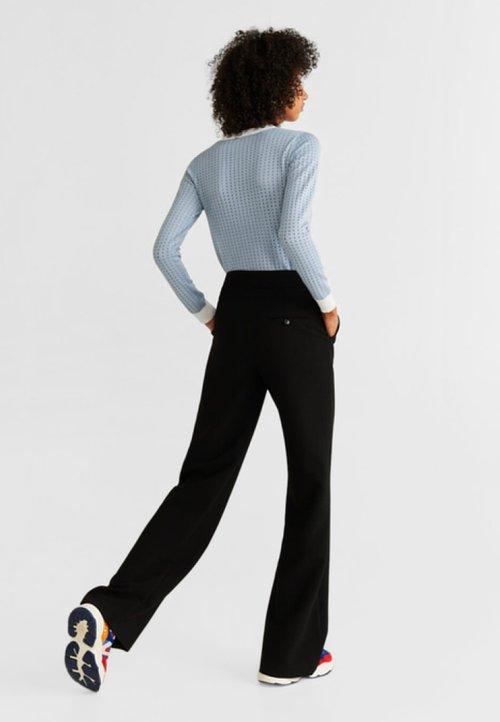 Mango STREET - Sweter - light blue Odzież Damska EIQI-HM9 wylot