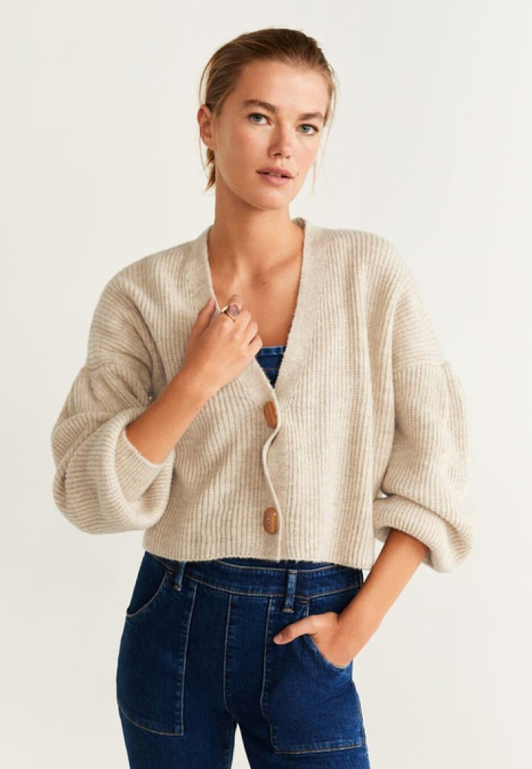 Mango - JULIET - Cardigan - light grey