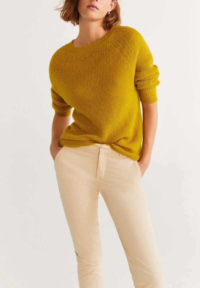 Mango - PANTONE - Jumper - yellow