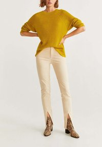 Mango - PANTONE - Jumper - yellow - 1