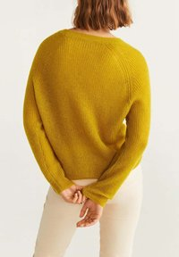Mango - PANTONE - Jumper - yellow - 2