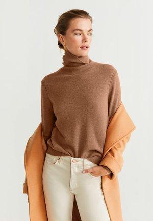 CASHMERE BAHIAC - Sweter - caramel