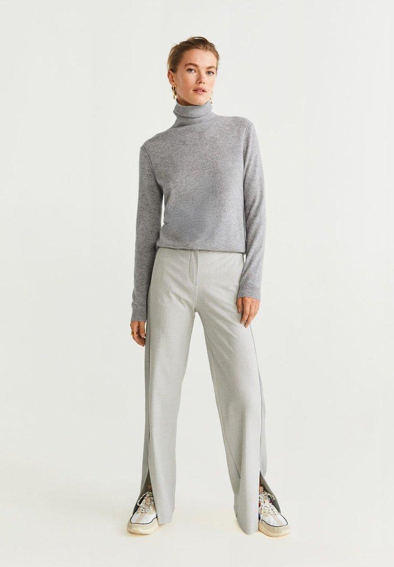Mango - CASHMERE BAHIAC - Strikkegenser - mottled grey