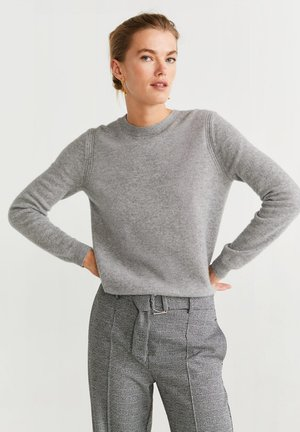 BAHIA - Pullover - mottled medium gray