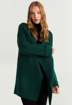 MONTIEL - Cardigan - dark green