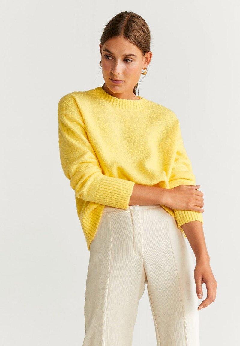 Mango - ESPUMADO - Pullover - yellow