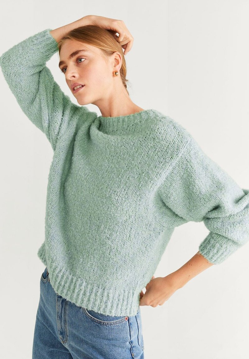 Mango - DOLLY - Sweter - watergreen