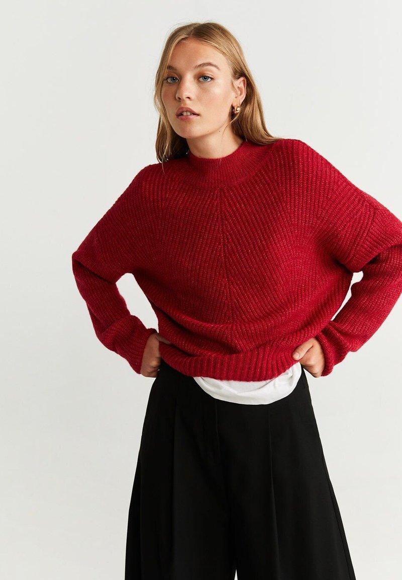 Mango - SIDNEY - Pullover - strawberry red