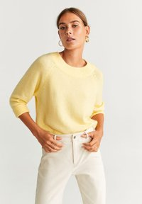 Mango - INCIENSO - Jumper - yellow - 0