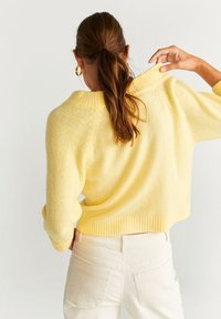 Mango - INCIENSO - Jumper - yellow - 2
