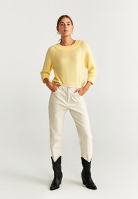 Mango - INCIENSO - Jumper - yellow