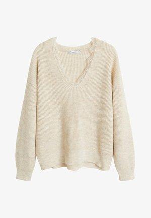 LOVELACE - Sweter - beige
