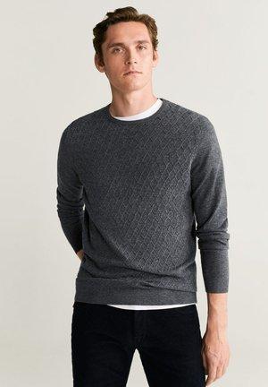 PINZON - Sweter - mottled grey