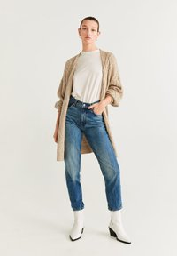 Mango - TRENZOTE - Cardigan - light grey/pastel grey - 1
