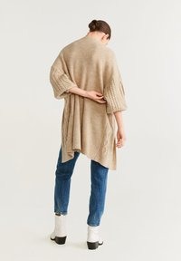 Mango - TRENZOTE - Cardigan - light grey/pastel grey - 2