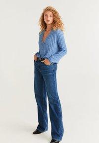 Mango - SHELLY - Vest - blue - 1