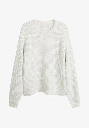 GOFRE - Sweter - ecru