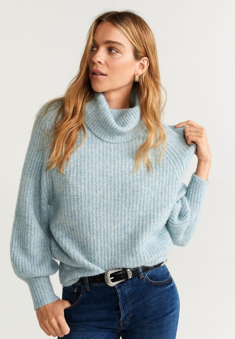 Mango - ANGELA - Pullover - light blue