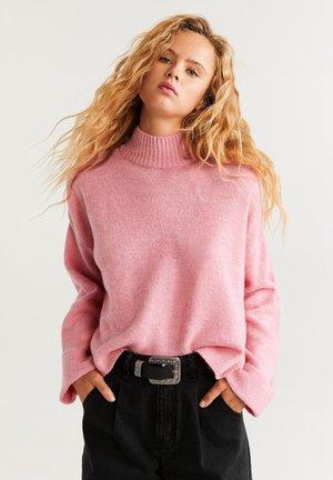 SPONGY - Strikpullover /Striktrøjer - bubble gum pink