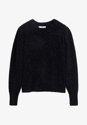 CROW - Pullover - black