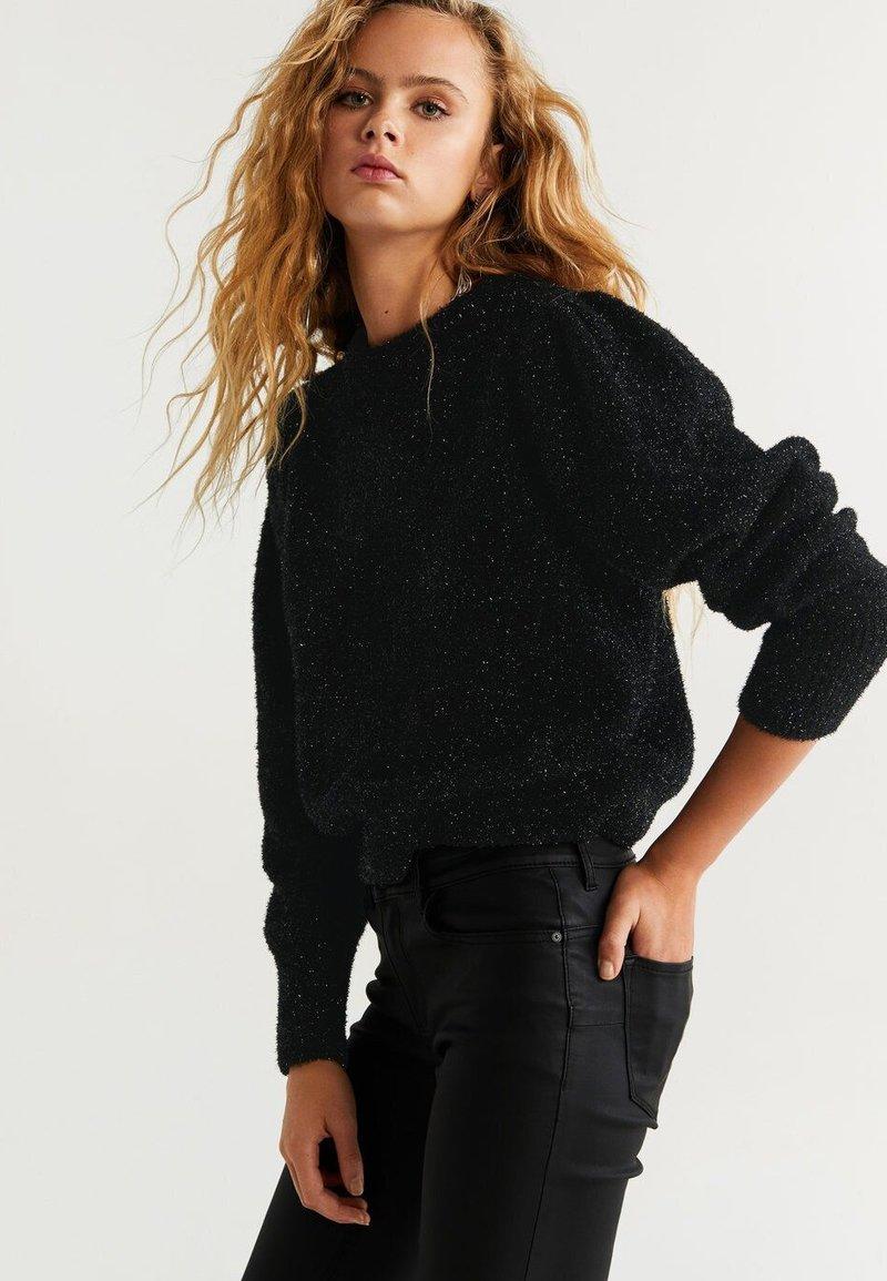 Mango - CROW - Pullover - black