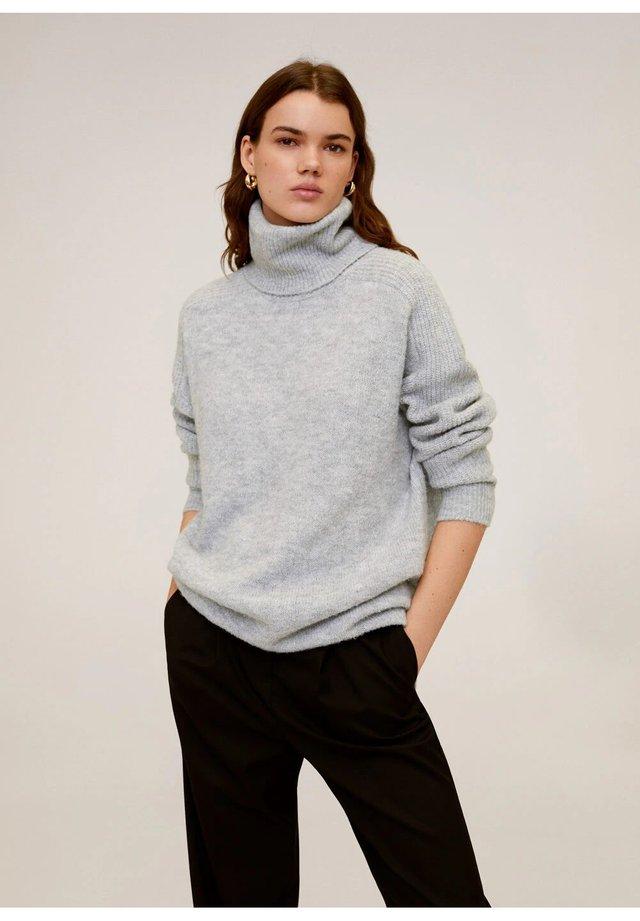 DONATE - Stickad tröja - grey