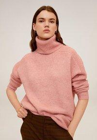 Mango - DONATE - Sweter - pink - 0