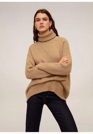 DONATE - Sweter - medium brown