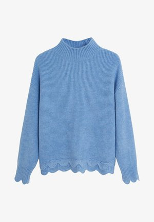 SCALLOP - Strickpullover - sky blue