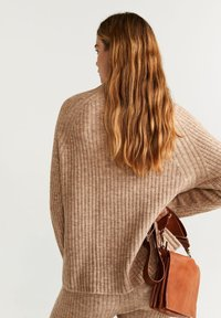 Mango - SOUL - Pullover - brown - 2